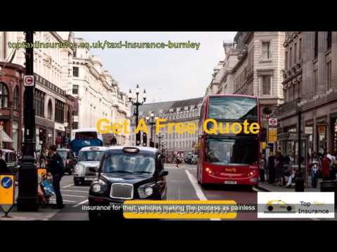Burnley Cheap Taxi Insurance