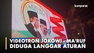 Jokowi - Ma'ruf Dipanggil Bawaslu DKI Gara-gara Videotron Kampanye