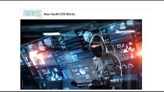 FORTRESS Cybersecurity Enterprise & Government Software Solution