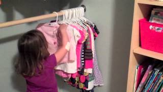 Teach Your Child To Hang Up Clothes Tips