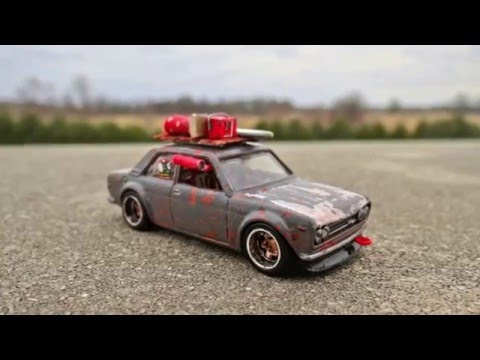 How To Make A Roof Rack For Your Custom Hotwheels   YouTube