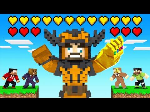 CRAFTING THANOS *DRACONIAN ARMOR* in Insane Craft (Minecraft)