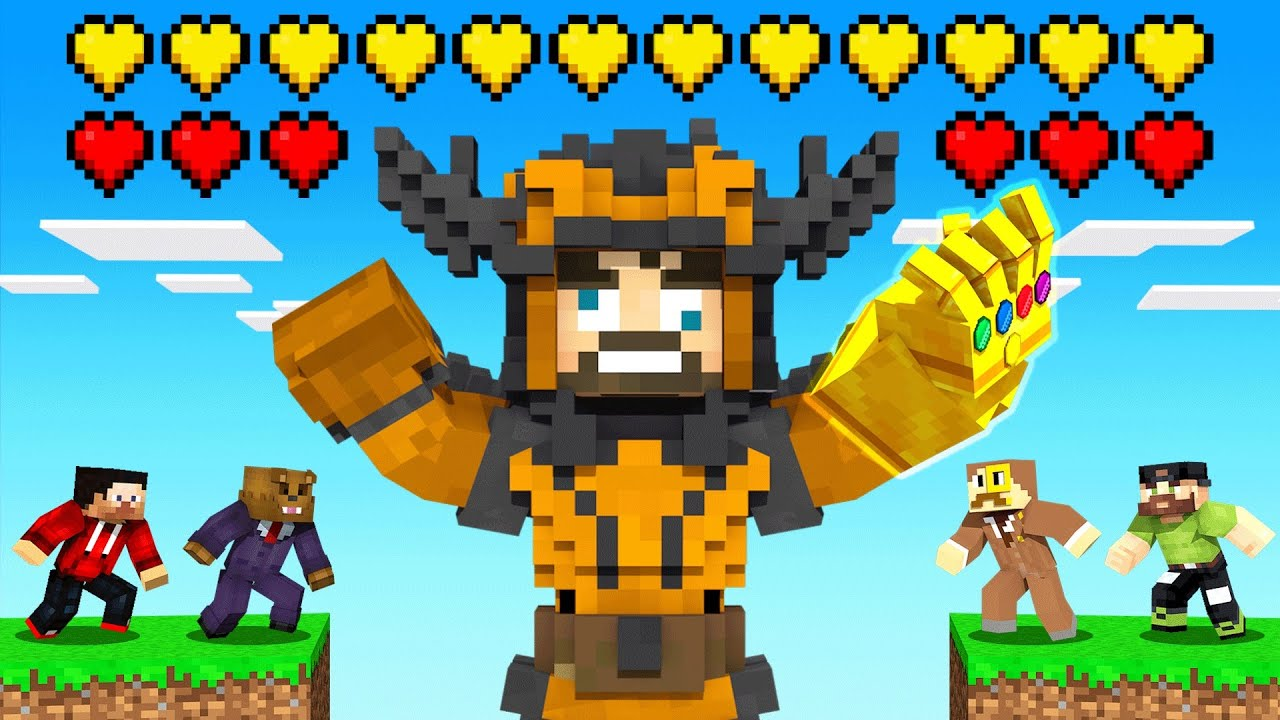 Download CRAFTING THANOS *DRACONIAN ARMOR* in Insane Craft (Minecraft)