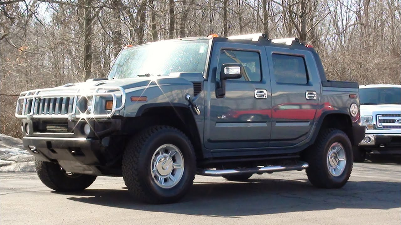 Mvs 2005 Hummer H2 Sut Youtube