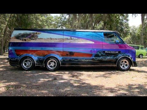 'DEATHSTAR' 1977 Custom Dodge Van