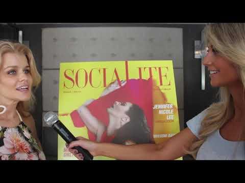 THE BEACH CHANNEL Covers Jennifer Nicole Lee's Mega Social Mixer
