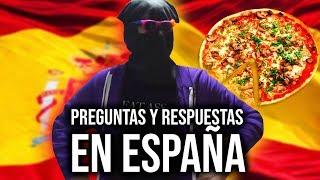 PREGUNTAS Y RESPUESTAS MIENTRAS HAGO UNA PIZZA EN ESPAÑA *Termina Horneada*