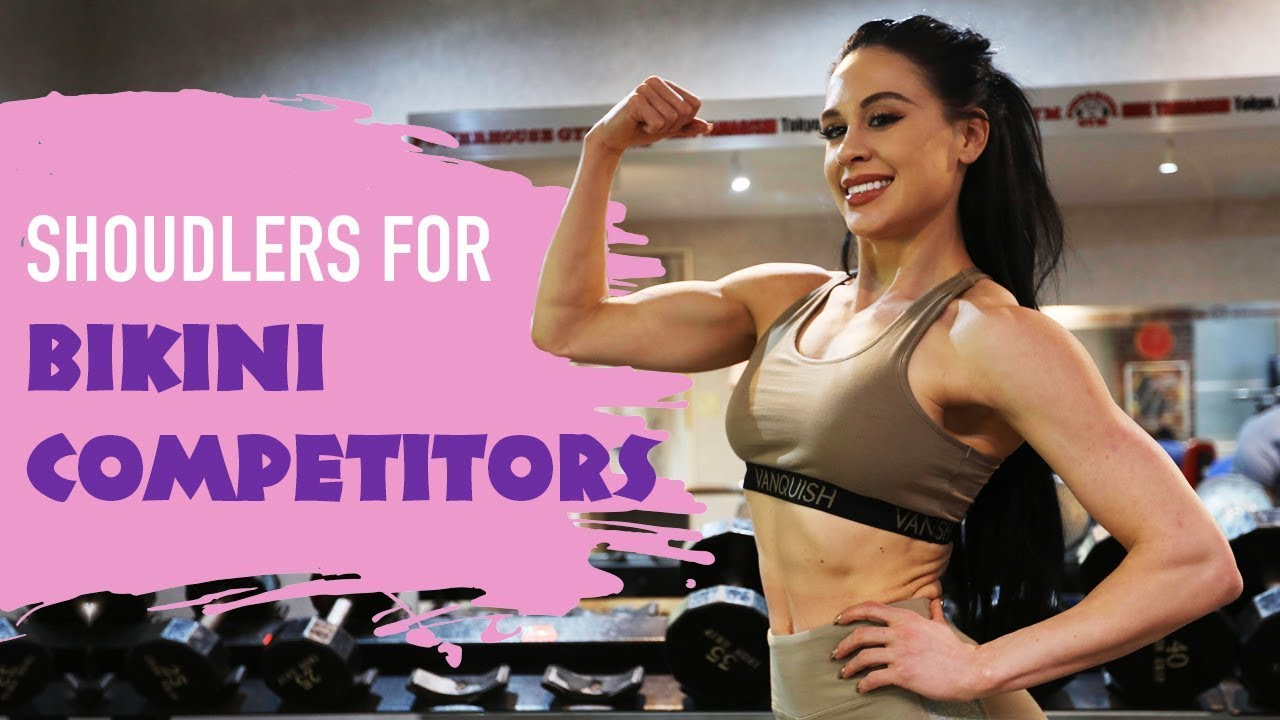 High Rep Shoulder workout for Bikini Competitors | Ashley Kaltwasser