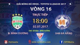 Binh Duong vs Da Nang full match