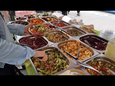 Street Food - Leather lane market - London