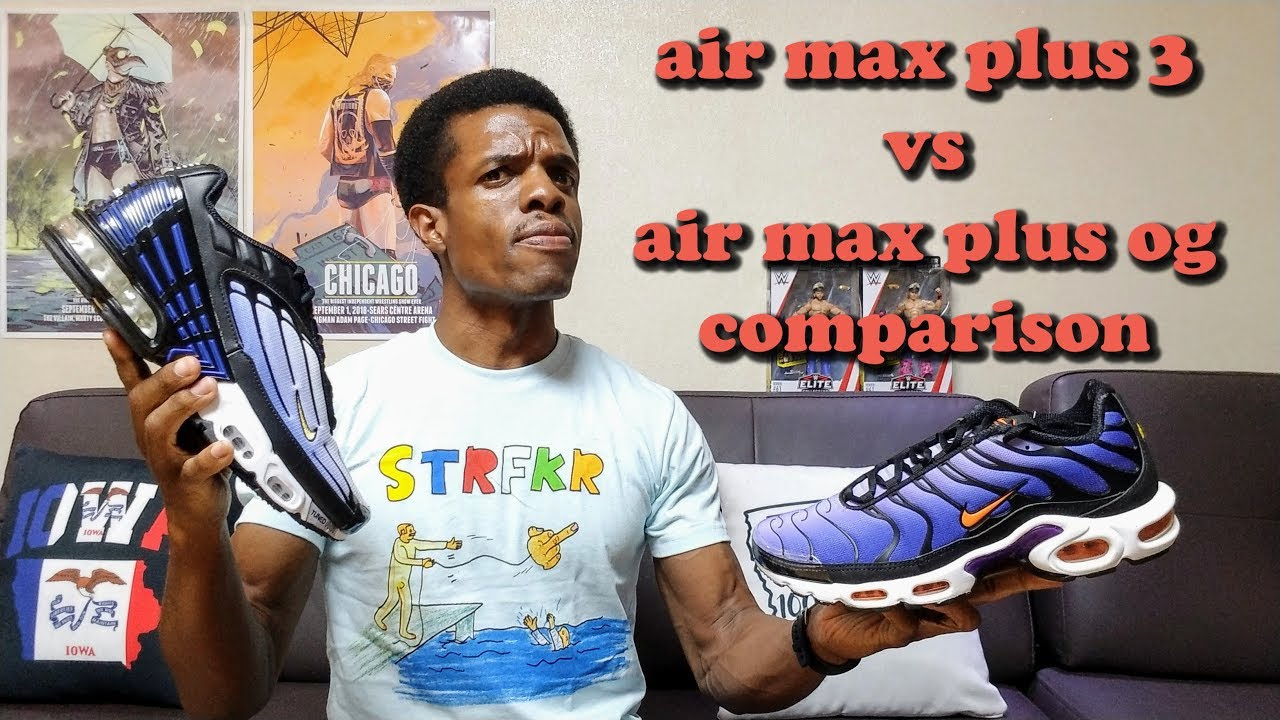Nike Air Max Plus III vs Air Max Plus OG Comparison Review