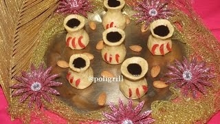 MANGAL KALASH - DIWALI Special Sweet Dish | Holy Pot Sweets recipe