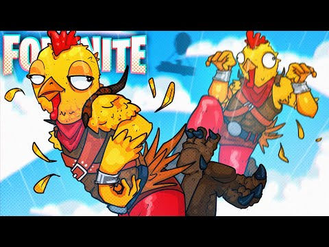 THESE ARE NOT THE CHICKENS TO MESS WITH! - Fortnite Battle Royale!