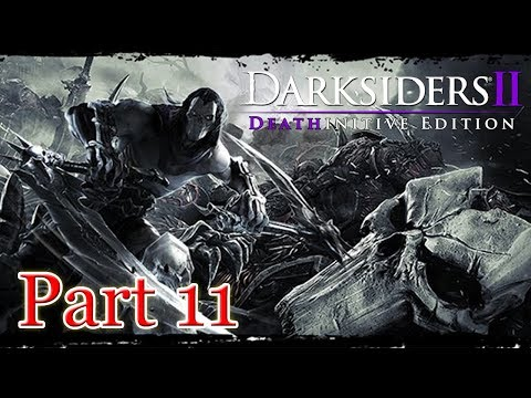 Darksiders 2 Deathinitive Edition PS4 Gameplay Part 11 Deathgrip & Collecting more Heart Stones