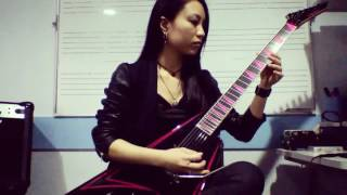 Children Of Bodom Hate Crew Death Roll solo cover by Saaya
