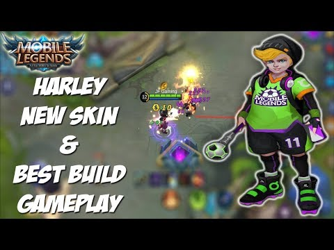 NEW SKIN HARLEY - SOCCER PLAYER - MOBILE LEGENDS INDONESIA