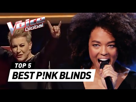 The Voice | BEST P!NK Blind Auditions worldwide