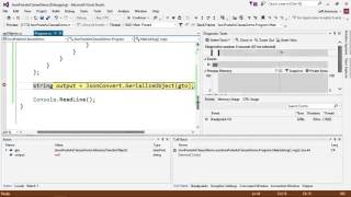 Converting JSON to C# The Easy Way
