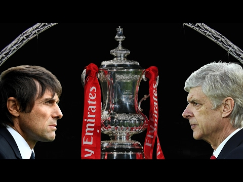 Arsène Wenger and Antonio Conte look forward to FA Cup final
