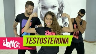 Topera - Testosterona - Fitdance - 4k   Coreografia