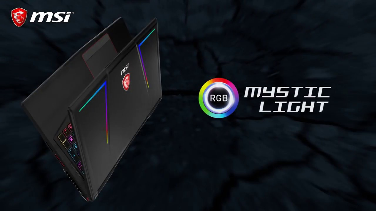 Notebooks GE Raider RGB Edition avec Mystic Light