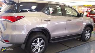 Toyota Fortuner 2019 Exterior Interior Display