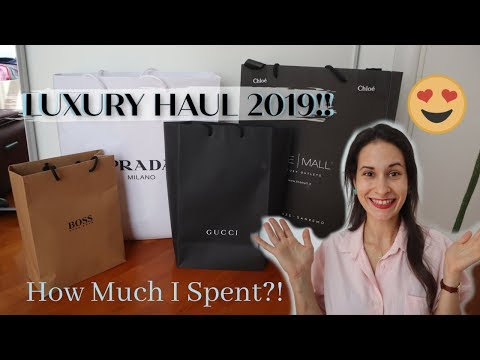 ITALIAN DESIGNER LUXURY HAUL 2019 || How Much I Spent And Italian Outlets