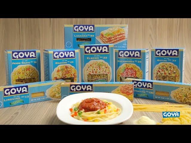 Anuncio  - Nuevas Pastas Goya - 2017