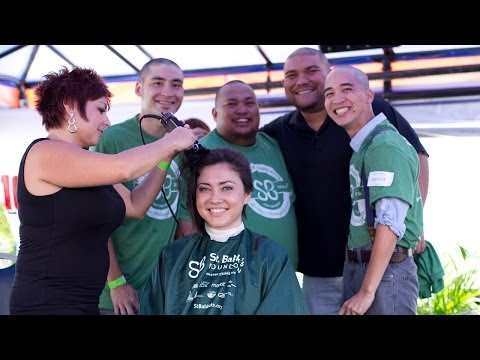 Honolulu Head-Shaving Event for Children's Cancer Charity