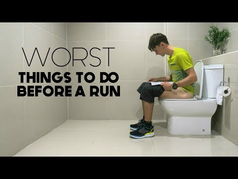Worst Things to do Before a Run | 4 Common Mistakes