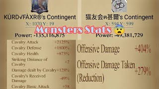 Defending Rally against Top1 global Attacking 😳🚀 , Epic war Clash of kings..