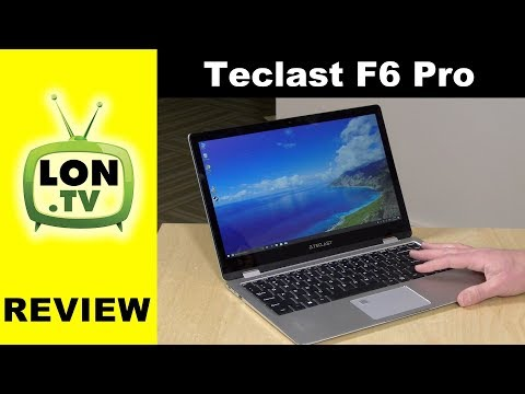 Teclast F6 Pro Notebook 2 in 1 Fanless Laptop Review - $500 with Core M3