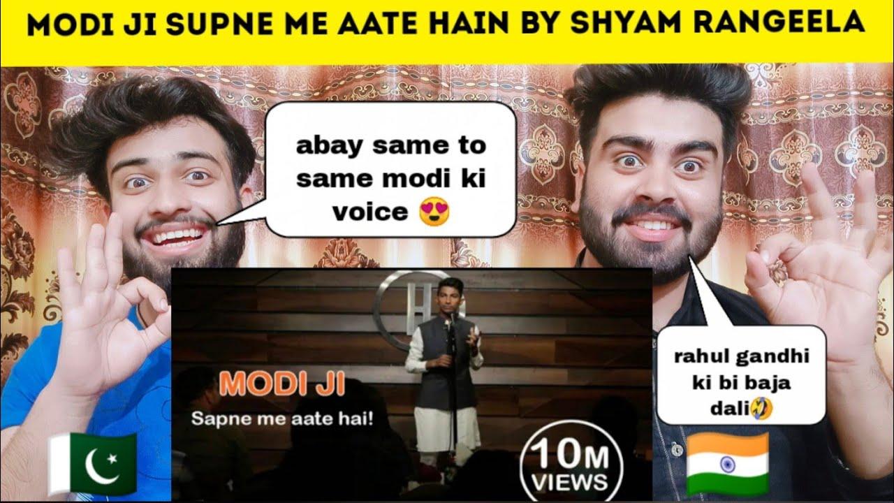 Modi Ji Supne Me aate hain by Shyam Rangeela Standup Comedy Reaction By|Pakistani Bros Reactions|
