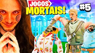 JOGOS MORTAIS DO DERPONCE - FORTNITE #5