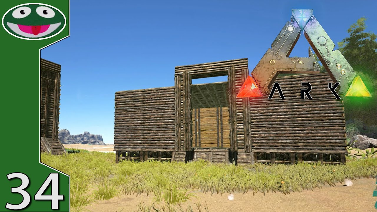 Building a dino pen ark survival evolved gameplay youtube malvernweather Choice Image