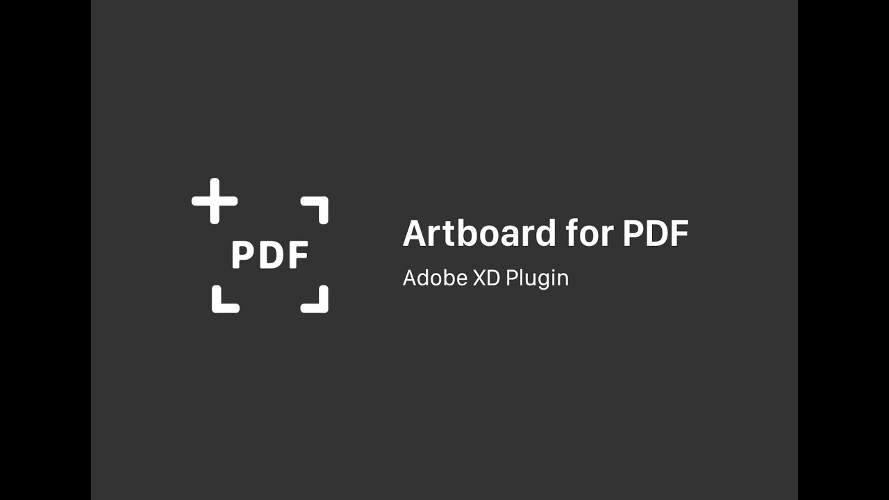 Artboard for PDF / Adobe XD Plugin