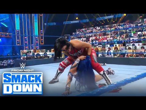 Bayley turns on BFF Sasha Banks after failing to regain the tag-team titles   FRIDAY NIGHT SMACKDOWN