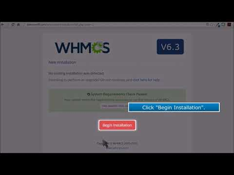 1  Video Tutorials   How To Install WHMCS