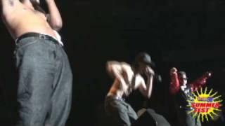 Power 98: Pretty Ricky performs and strips to