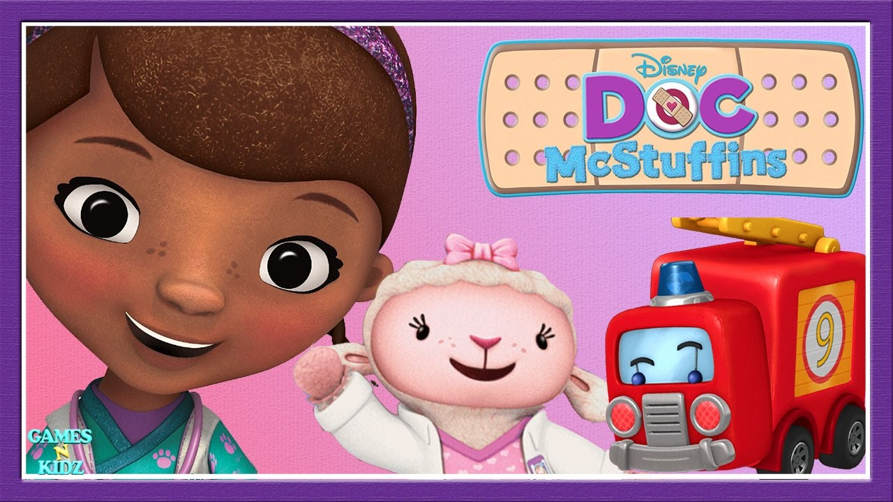 doc mcstuffins hospital pet vet clinic toy check up childrens games disney junior app for kids - Childrens Games Free Disney