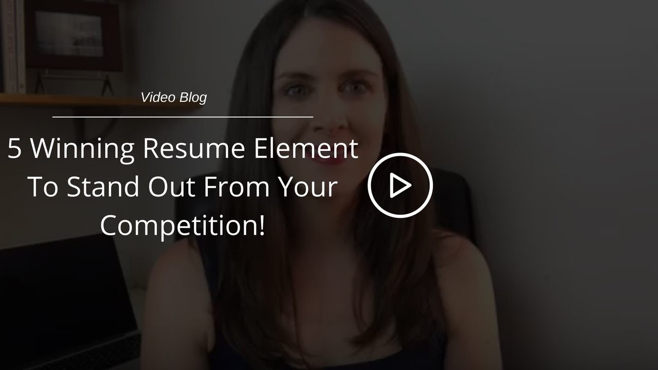 best resume format  5 critical resume element to stand out