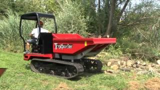 Hinowa TX2500 TraXporter tracked dumper - 2500kg load capacity