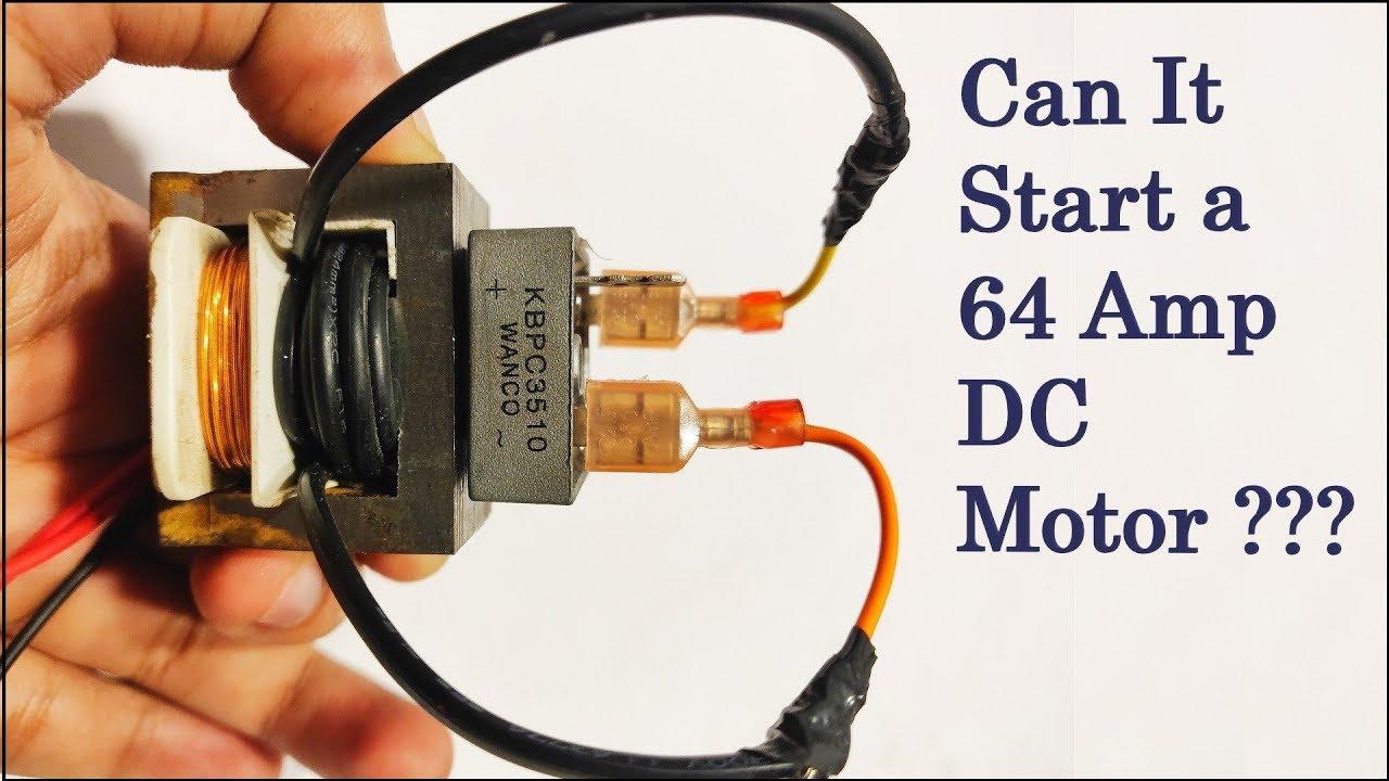 How To Make Dc Transformer Diy