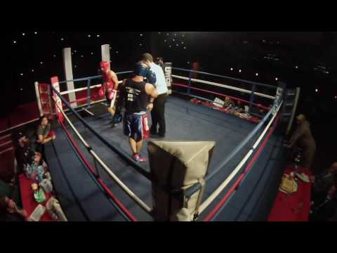 Ultra White Collar Boxing   Aldershot   Callum Beamont VS Leroy Wigmore