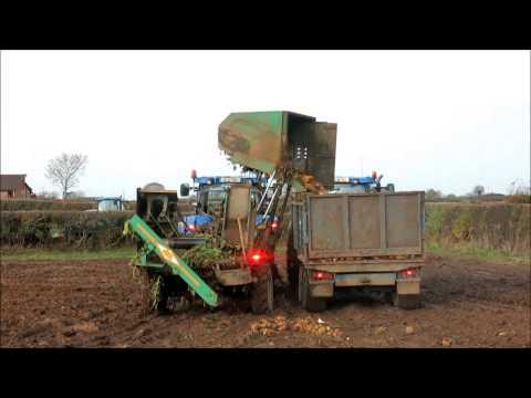 Machinery: harvesting beet in Co Kildare
