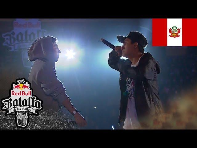 NEKROOS vs GHOST - Semifinal: Final Nacional Perú 2017 - Red Bull Batalla de los Gallos
