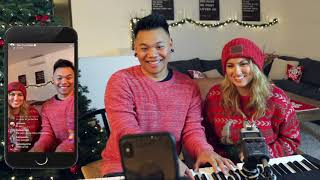Ultimate LIVE Christmas Medley with Tori Kelly | AJ Rafael