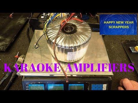 Scrapping Karaoke Amplifiers