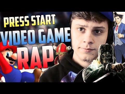 PRESS START - RUSTAGE ( 40+ VIDEO GAME RAP...