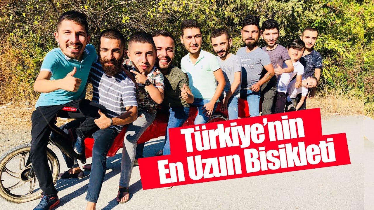 TÜRKİYE'NİN EN UZUN BİSİKLETİ İLE SUYA UÇTUK!